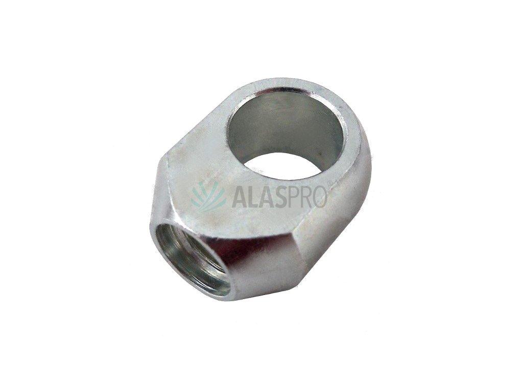 Koncovka - oko k plynové vzpěře páky ruční brzdy AL-KO 2,8VB