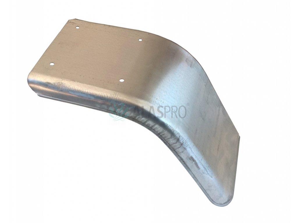 Blatník poloviční plechový š. 220 mm levý, pozink