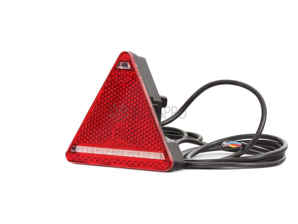 Svítilna WAS W68/319 sdružená LED 12-24V, L-BL/BR/KO/ML/RZ
