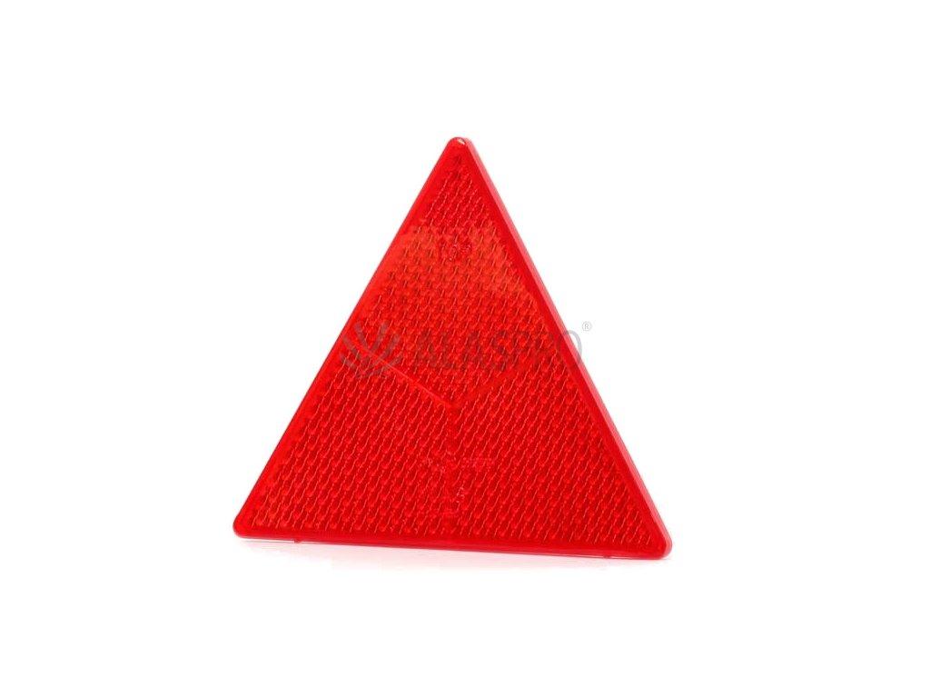 Odrazový trojúhelník 161x138 mm se zalis. šrouby