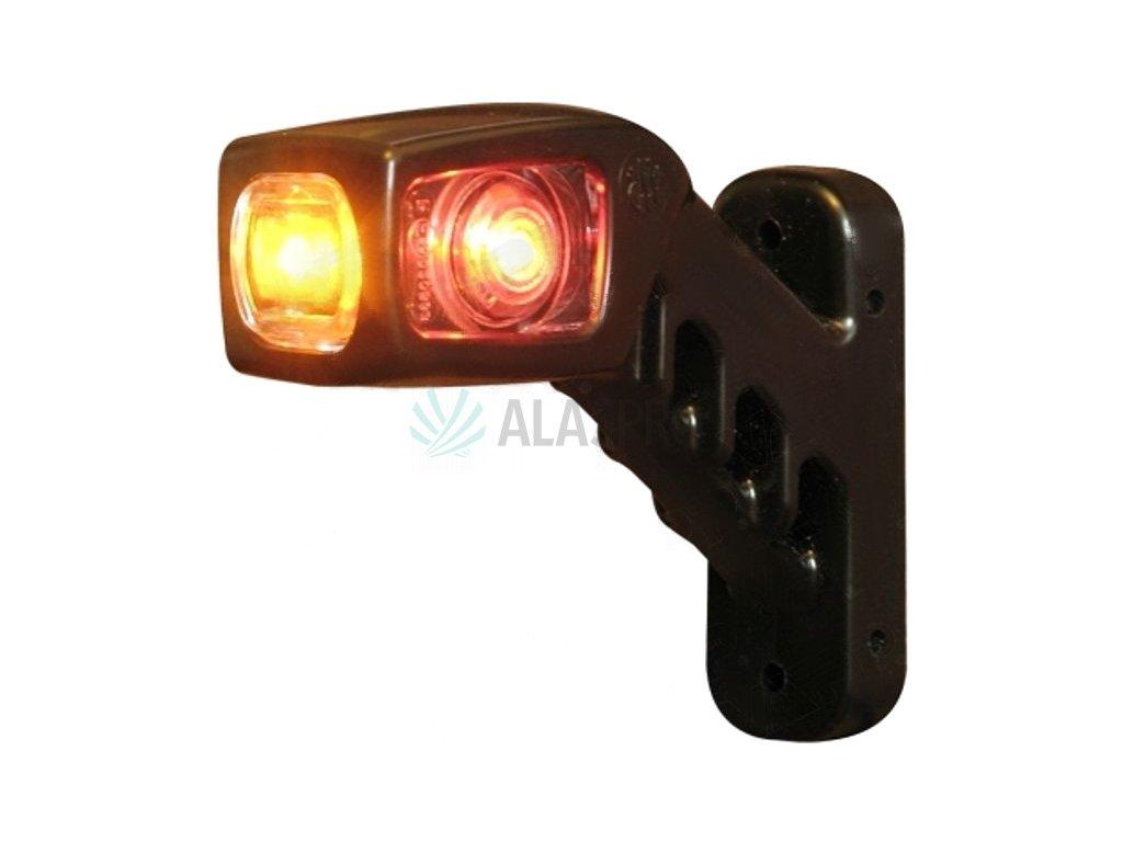 Svítilna doplňková/boční obrysová LED WAS W49/241L, 12-24V, levá, 135 mm