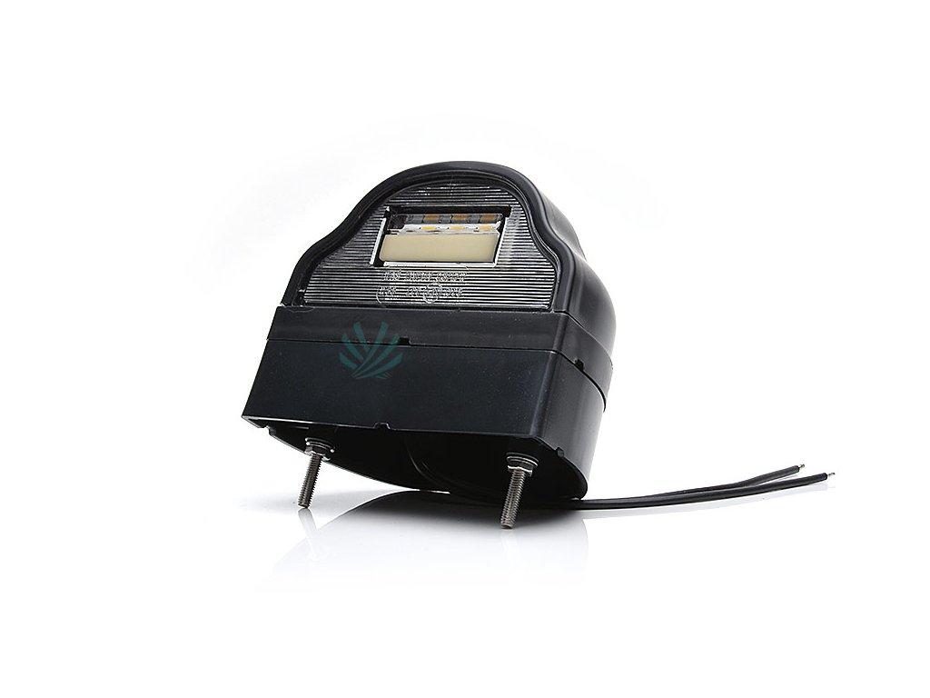 Osvětlení SPZ (registrační značky) LED WAS W88/730 (12-24V), zaoblené