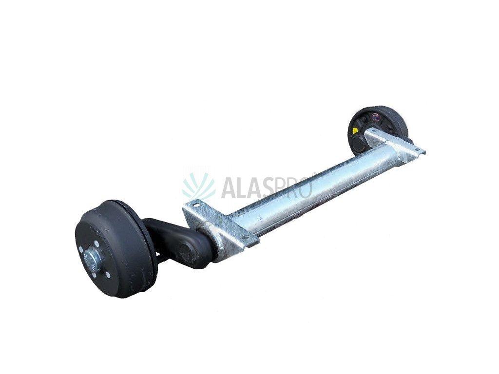 Náprava KNOTT GB 10 (1050 kg) b= 740 mm 200x50 (100x4)