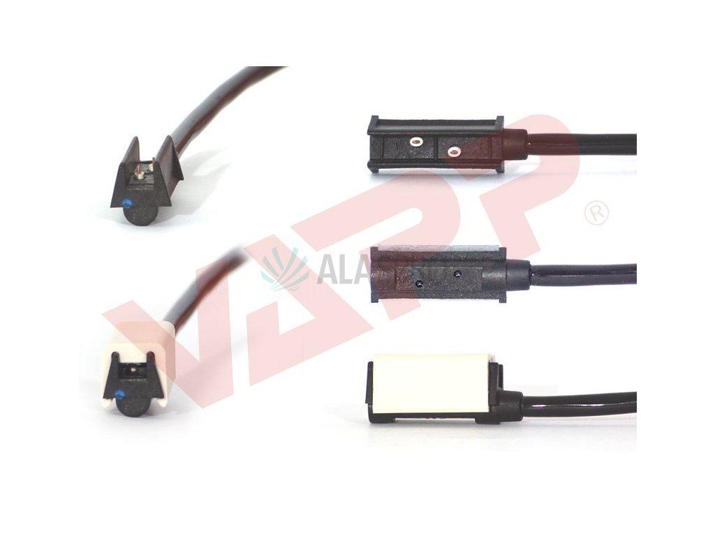 Svítilna boční obrysová LED WAS W64, 12-24V, s odrazkou, QS150