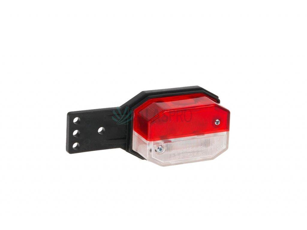Svítilna doplňková obrysová Fristom FT-024 II červenobílá (Flexipoint) na držáku