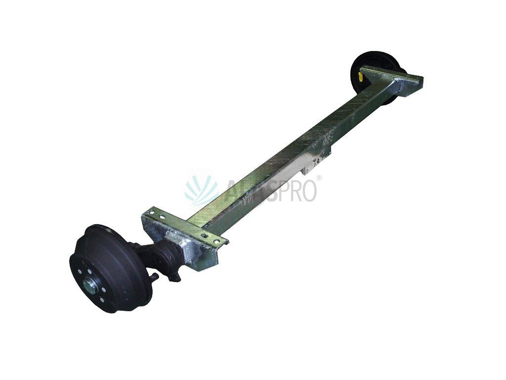 Náprava KNOTT VGB 18-M (1800 kg) b=1400 mm, 250x40 (112x5)