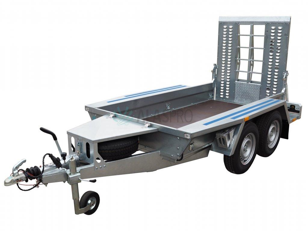 přívěsný vozík na bagr