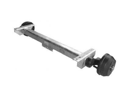 Náprava KNOTT VGB 16-M (1600 kg) b= 940 mm, 250x40 (112x5)