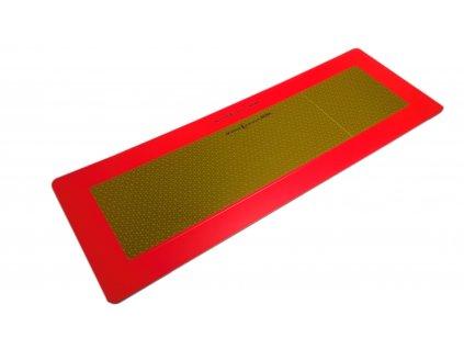 Reflexní tabule P2 na přívěs (dle EHK 70.01), tl.2 mm