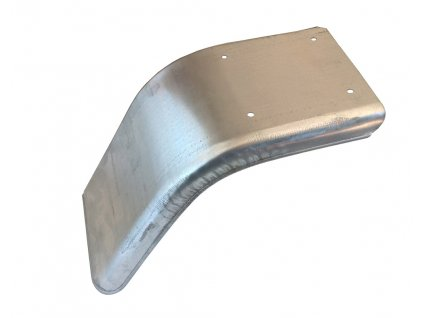 Blatník poloviční plechový š. 220 mm pravý, pozink