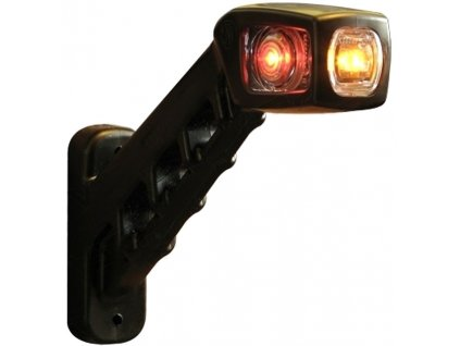 Svítilna doplňková/boční obrysová LED WAS W48/238P, 12-24V, pravá, 187 mm