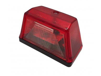 Osvětlení SPZ (registrační značky) G09/1, červená