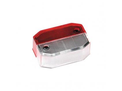 Sklo svítilny Fristom FT-024 (Flexipoint) doplňkové obrysové, č/b
