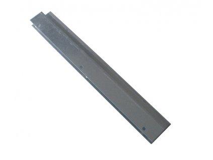 Lemování čela bok s praporkem 396mm  Zn. 1mm (zvýšené bočnice o 100mm)