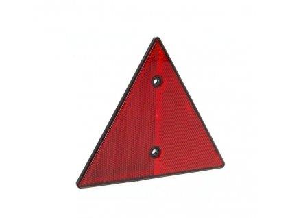 Odrazový trojúhelník 158x138 mm s otvory