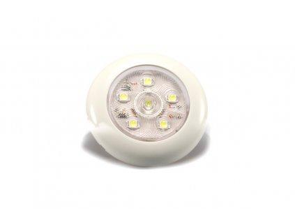 Vnitřní osvětlení Lucidity 22765 pr. 75 mm, 12-24V, 120/84 lm, 6 LED, dotek. spínač, IP67