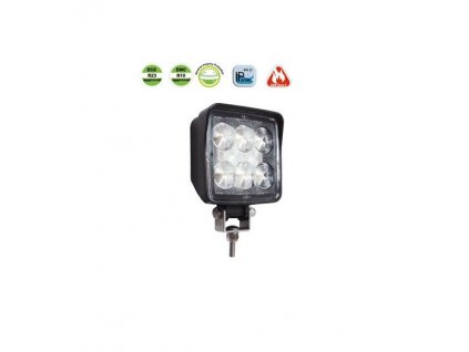 Svítilna couvací/pracovní Lucidity 22809-B LED alu 1440/1036 lm, 12-36V, IP69K,kabel 0,28m