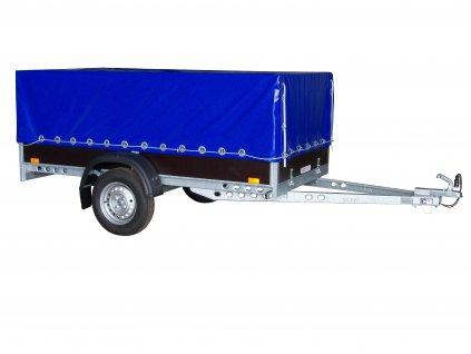 Plachta UNI/PROFI 5, podchozí výška 80cm, bez příslušenství, modrá