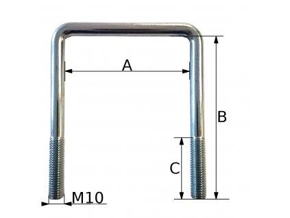 Třmen M10 dle specifikace zákazníka