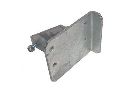 Konzola pro držák opěrného kolečka na brzdu AL-KO 161S/251S pro spodní montáž