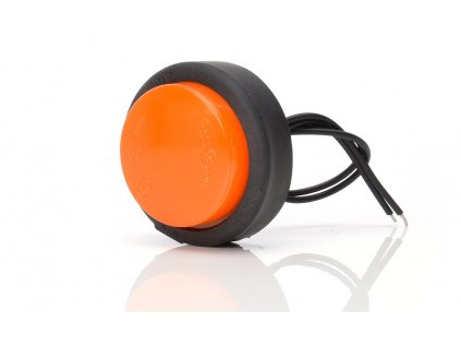 Svítilna boční obrysová LED WAS W79N, 12-24V, neon efekt, kulatá