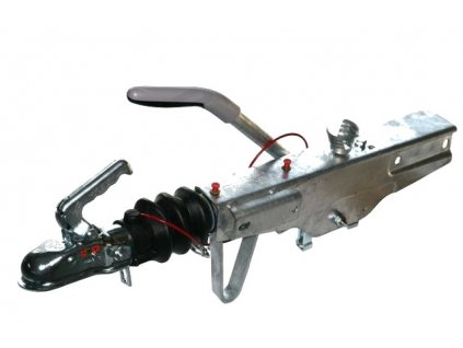 Nájezdová brzda KNOTT KRV 7,5C KH na jekl 70x70 mm + adaptér na 60x60 mm