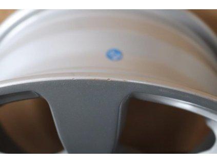 Disk Alu 6,0Jx10 H2 ET0 (5x112) černo - stříbrný, 2. jakost