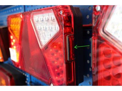 Náhradní záslepka osvětlení SPZ WAS W125