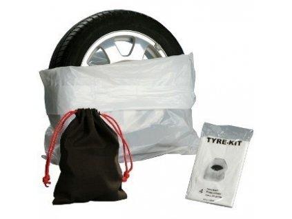 Pytle na pneumatiky 4ks + pytlík na šrouby - TYRE KIT