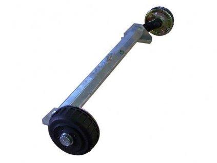 Náprava KNOTT GB 10 (1050 kg) b=1400 mm 200x50 (100x4) kovaná ramena