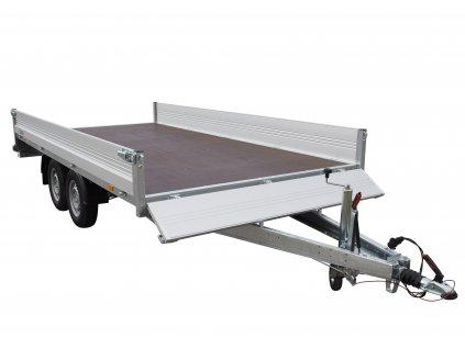 přívěsný vozík valník 4x2m
