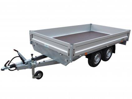 valníkový přívěsný vozík 2700kg