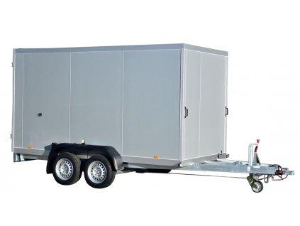 izolovaný skříňový přívěsný vozík