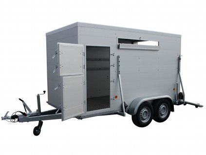 přívěsný vozík na přepravu býků