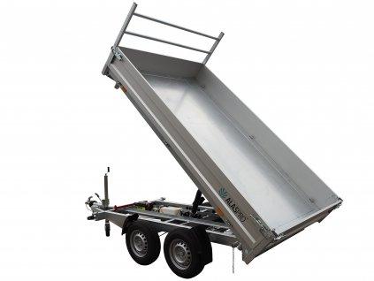 třístranný sklápěč 2600 kg