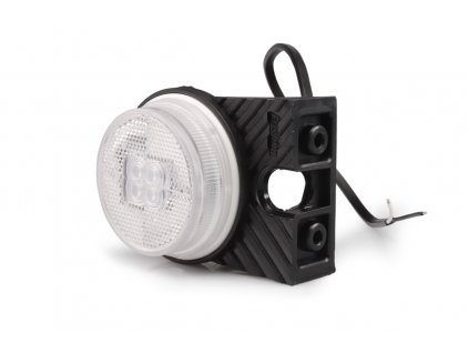 Svítilna přední obrysová LED Fristom FT-060 na držáku, PRAVÁ, 12-36V