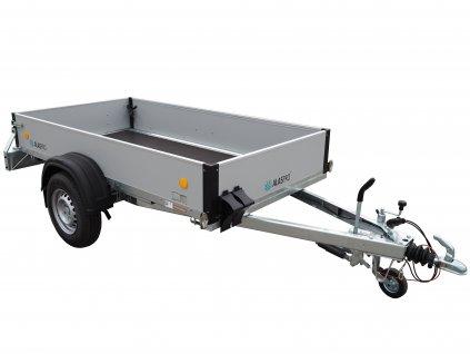 přívěsný vozík brzděný M profil VZ 26 B1