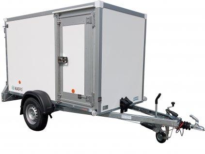 skříňový přívěsný vozík ze sendičových panelů