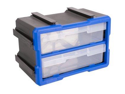 Plastový organizér, 2 boxy