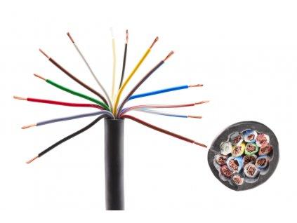 Kabel 13x1,5 mm2, třináctibarevný, metráž