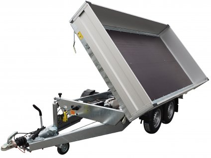 sklápěcí přívěsný vozík do tří stran alaspro
