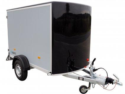 skříňový přívěsný vozík z překližky