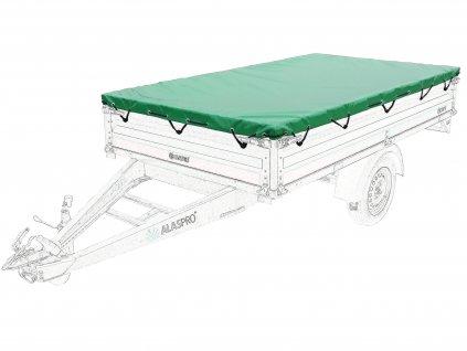 překrývací přetahovací zakrývací plachta na přívěsné vozíky