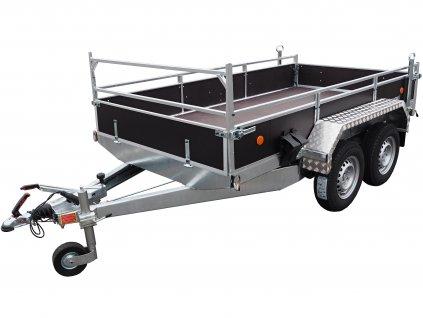 přívěsný vozík na přepravu bagrů AVZ 31 B2 alaspro