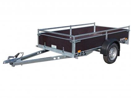 nebrzděný 750 kg přívěsný vozík překližka alaspro Plzeň