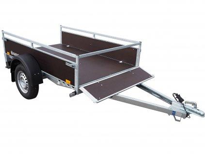 překližkový přívěsný vozík