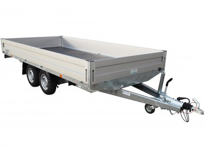dlouhý přívěsný vozík 4m 2,7t