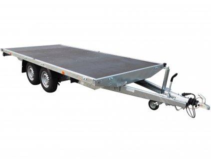 4m dlouhé plato přívěsný vozík alaspro