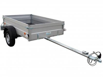 přívěsný vozík s prodlouženou ojí