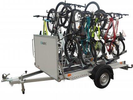 cyklovlek, přívěs pro přepravu jízdních kol, cyklopřívěs